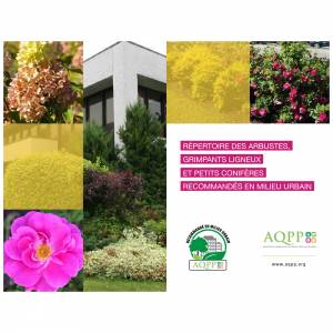 Repertoire des arbustes grimpants ligneux et petits conifères recommandes en milieu urbain